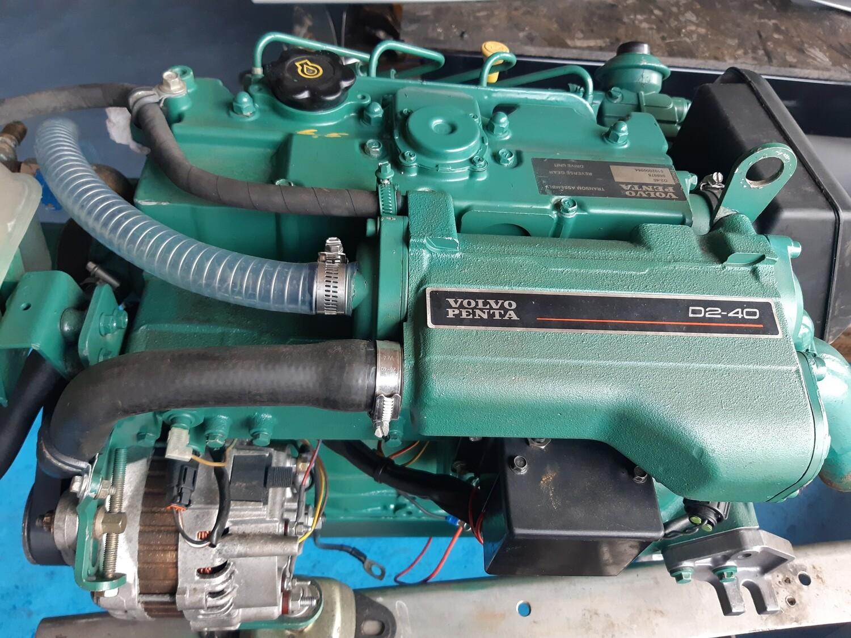 Volvo Penta D2-40 inboard marine diesel engine