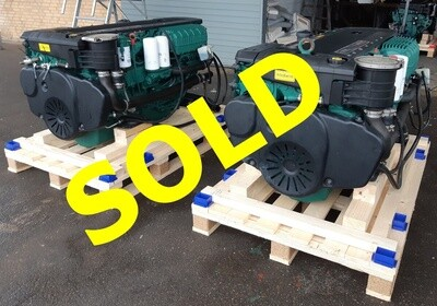 Volvo Penta D6-400 in excellent condition 330 running hours