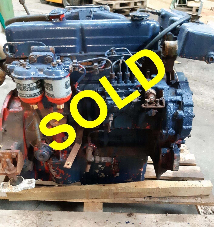 Ford 2705 marine diesel inboard engine, 88 HP