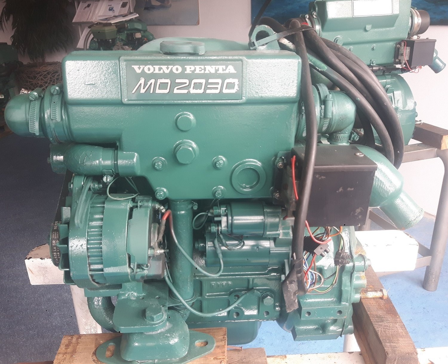 Volvo Penta 2030D Inboard marine diesel engine in very good condition