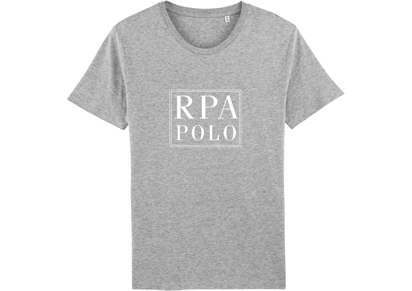 "T-Shirt ""RPA POLO"" in heather grey 00000"
