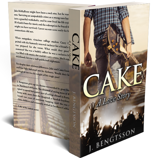 CAKE: A Love Story Signed Paperback