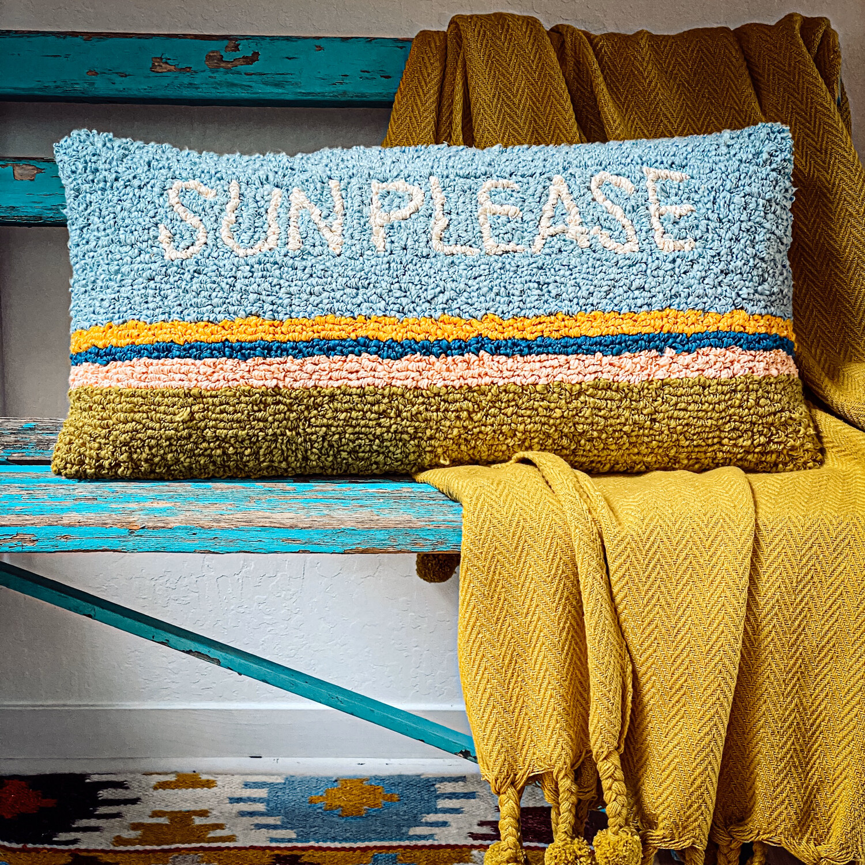 Sun Please pillow df2391