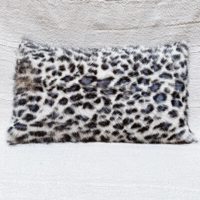 goat fur pillow df1055