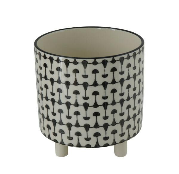 Stoneware planter df0121