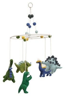 Wool Dino Mobile df2550