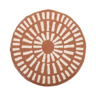 Round Cusion Rust ah0635