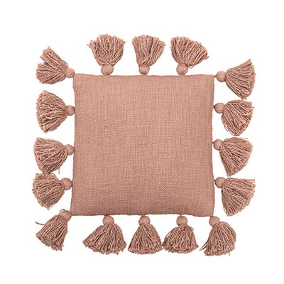 Rose Tassel Throw Pillow ah0641