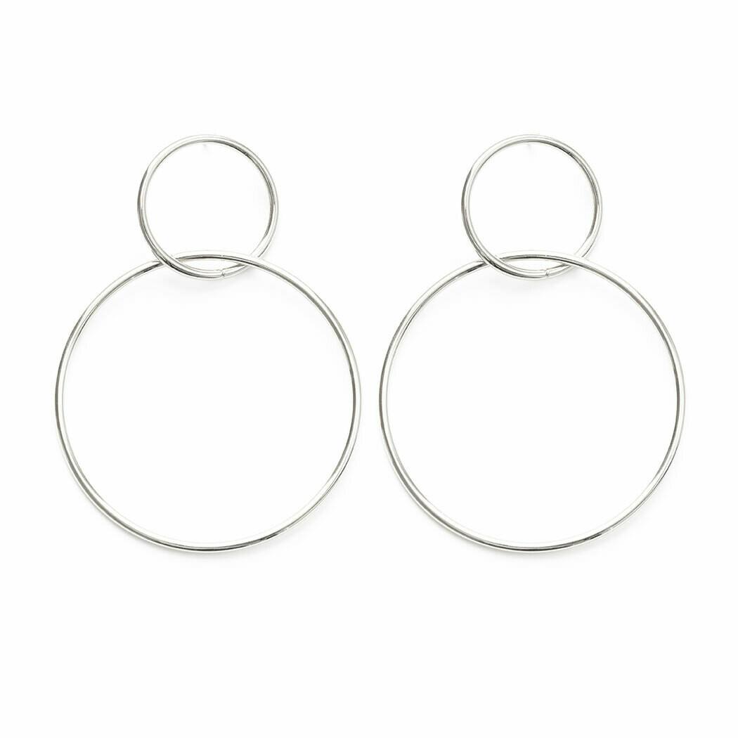 Double Ring Earring