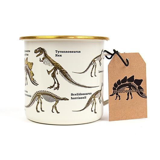 Dinosaurum Enamel Mug