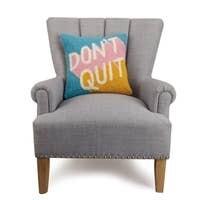 Don't Quit Hook Pillow