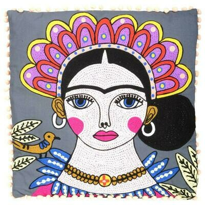 Frida Pillow Grey 93218