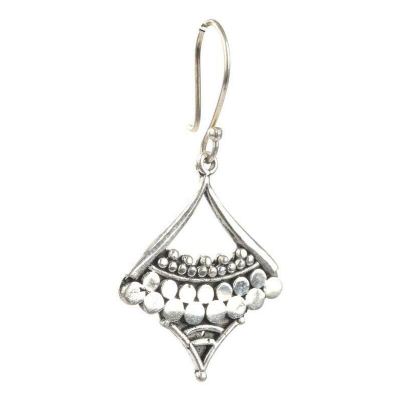 Silver Gypsie Earrings E2221