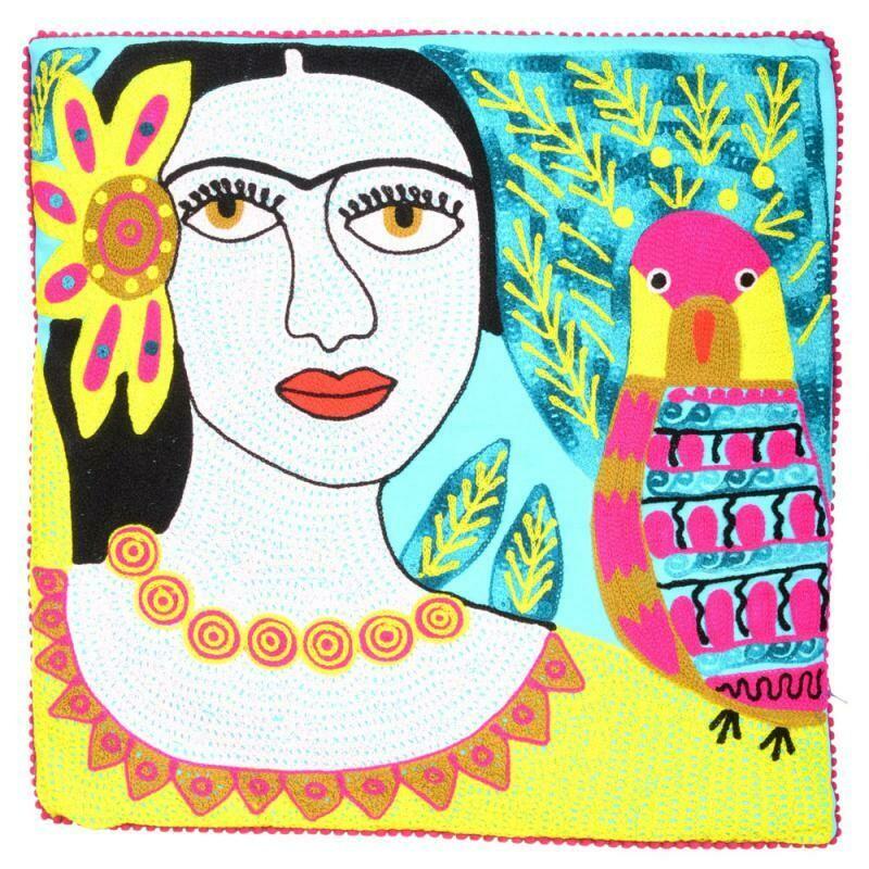 Frida Pillow Blue 93219