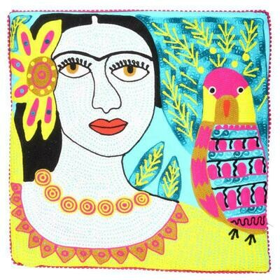 Frida Pillow Blue 93219