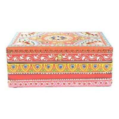 Hand Painted Wooden Box 65004