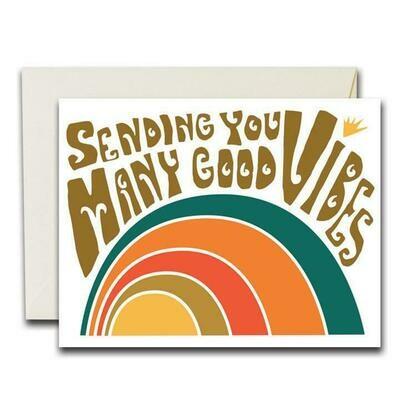 Many Good Vibes Card