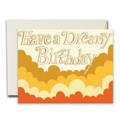 Dreamy Birthday Card