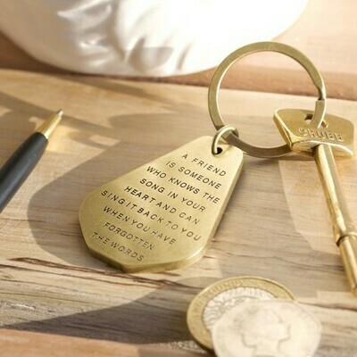 Friend Key Ring