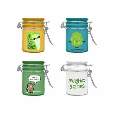 Pocket Size Stash Jar BUD012