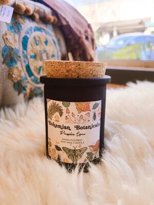 Bohemian Botanical Candle