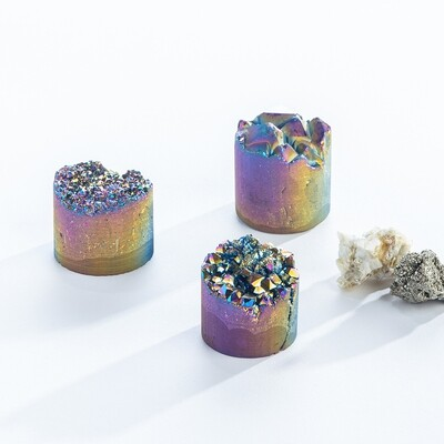 Frosted Rainbow Cylinder G6034/G6041
