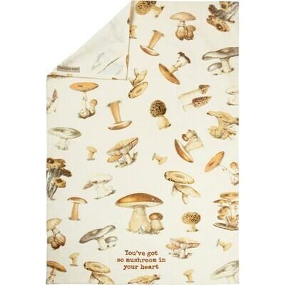 Dish Towel so mushroom 108965