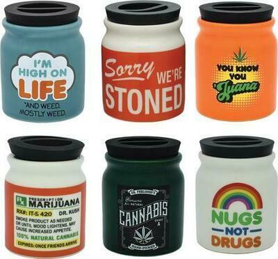 Stash Jar Assortment BUD001
