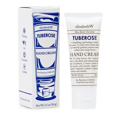 elizabethW Hand Cream- Tuberose
