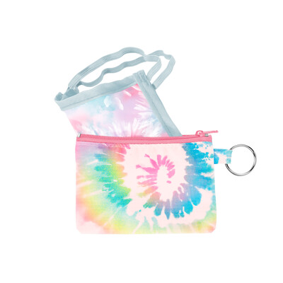 Penny Key Ring Rainbow Tie Dye 6221-9218