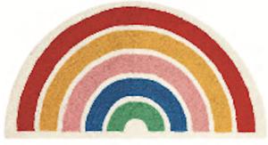 Rainbow shaped Hook rug