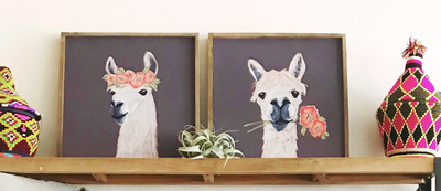 llama wall decor df0186a