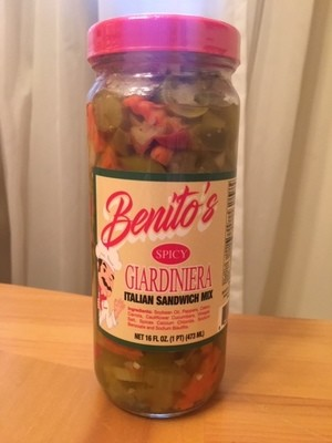 Benito's SPICY Giardiniera
