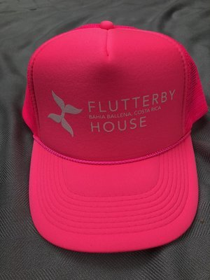 Flutter Hat (Hot Pink)