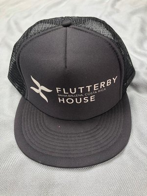 Flutter Hat (Black)