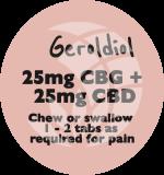 Geroldiol 50mg Chewable Tablets