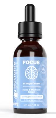 Focus Hemp + Mushroom Tincture