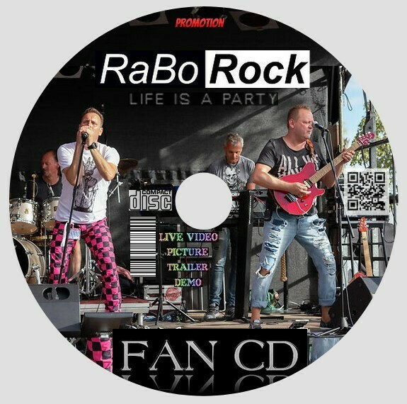 RaBo Rock Fan CD