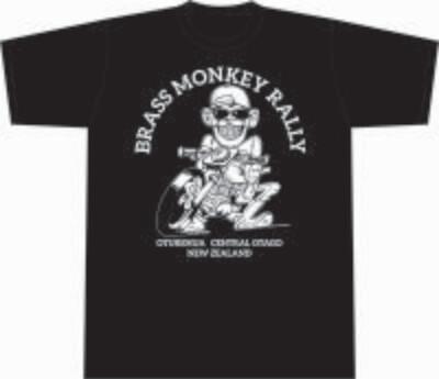 Big Grin Adults T-Shirt Black