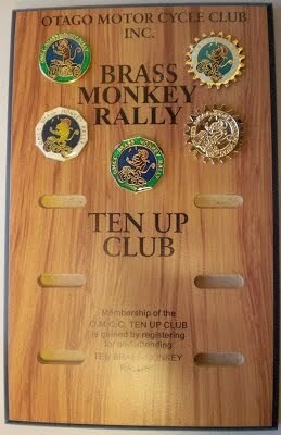 Plaque for Badges