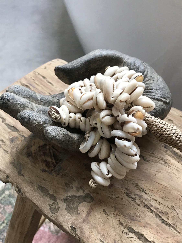 Lotus hand donkergrijs