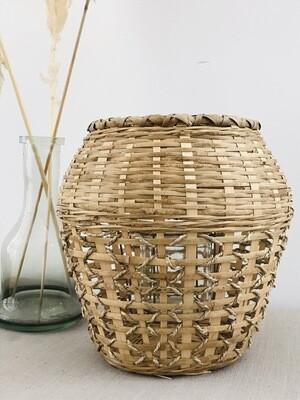 Bamboe windlicht