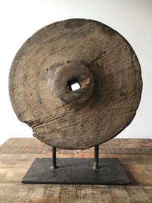 Houten wiel