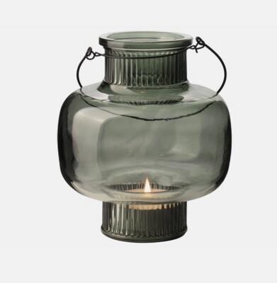Gusta glazen lantaarn groen