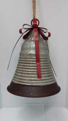 Metal Christmas bells 40cm 29,95 euro or 30cm 24,95 euro