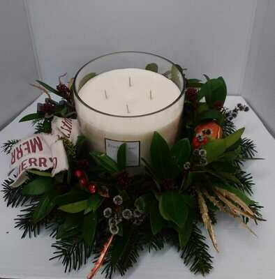 Frankincense candle arrangement from 55 euro