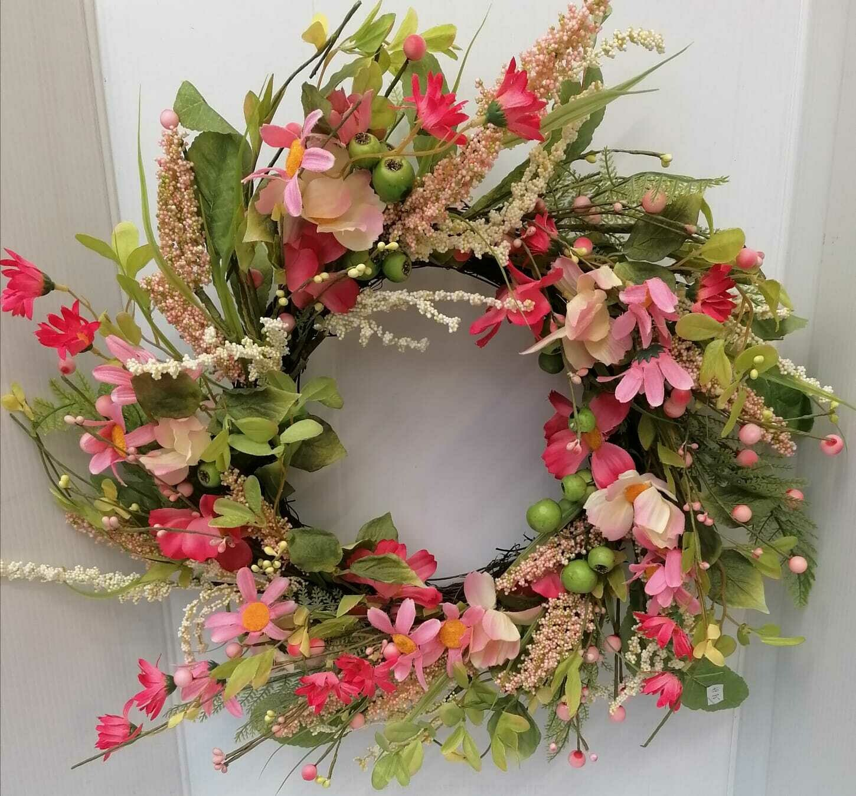 Spring door wreath 50 cm