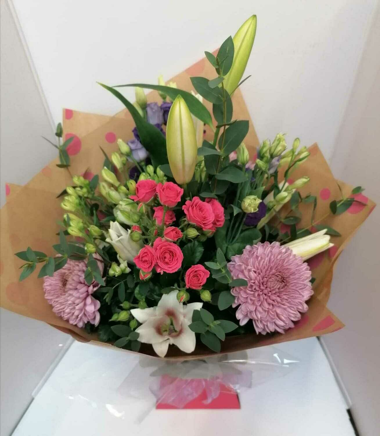 Mother's Day hand tied bouquets from 50 euro