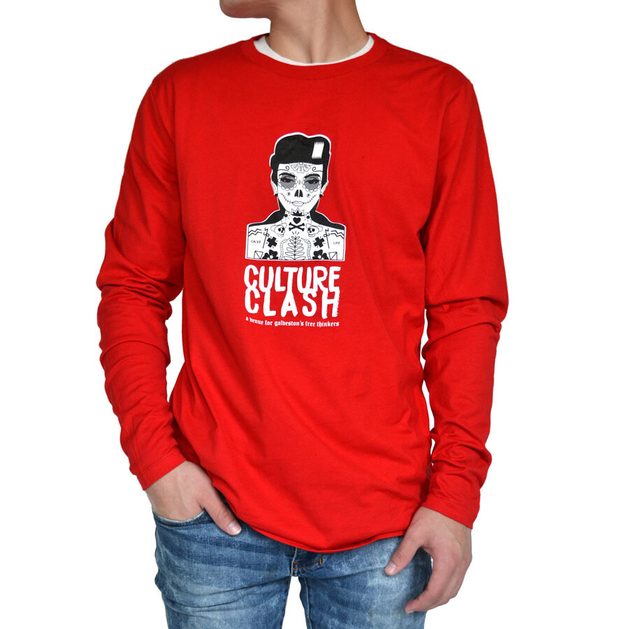 Red Long Sleeve Medium