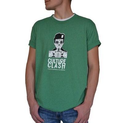 Dark Green Short Sleeve  XL